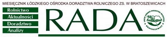 Miesięcznik Rada Łódzki Ośrodek Doradztwa Rolniczego